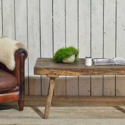 vintage elm coffee table