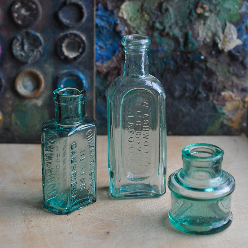 Vintage Glass Accessories from Home Barn