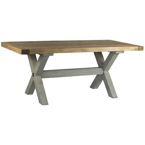 Reclaimed Wood Refectory Dining Table Home Barn Vintage