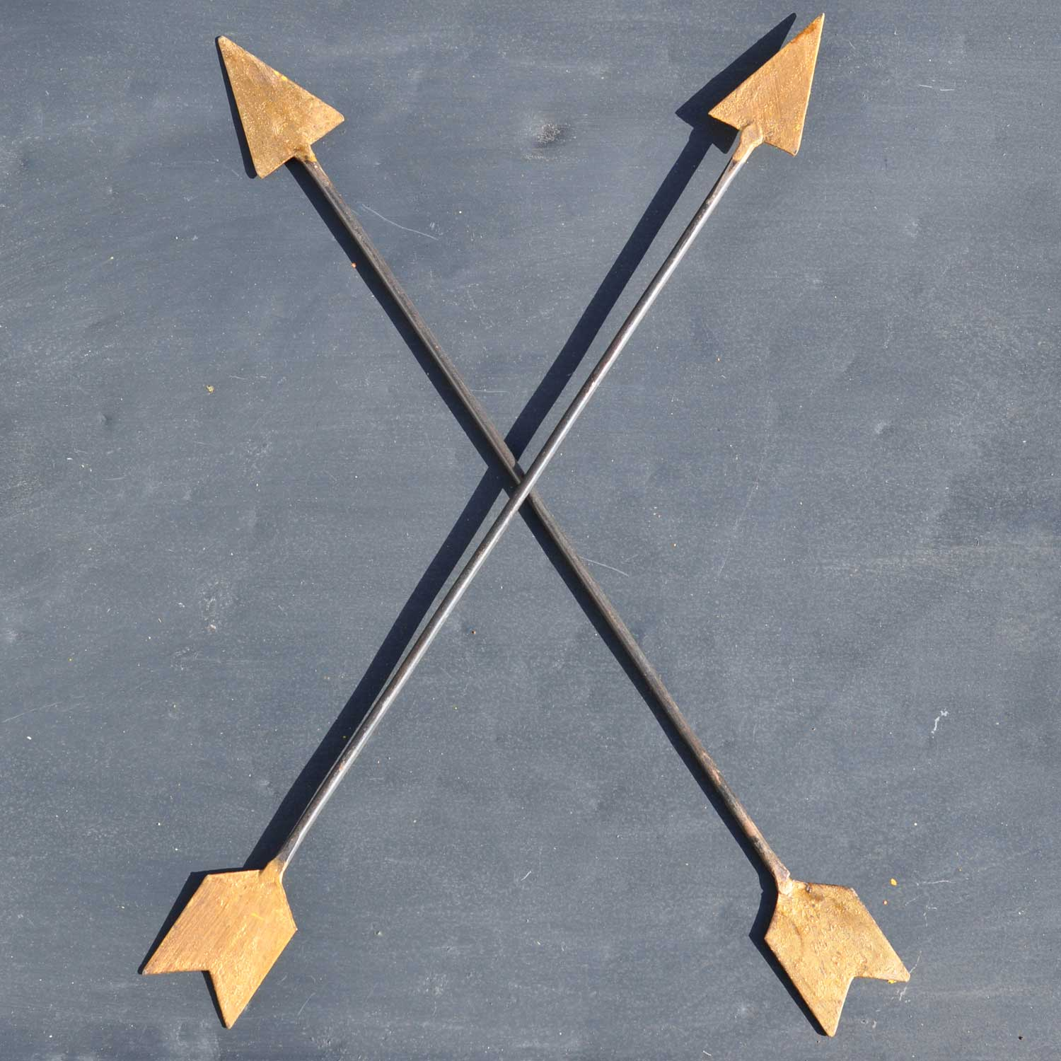 Arrows For Wall Decor : Vintage inspired metal arrow wall art home decor