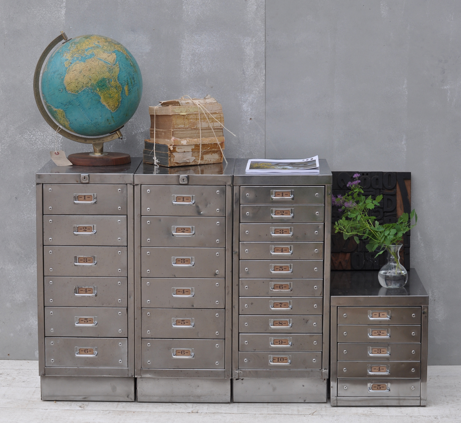 Wonderful  Reclaimed Wood 3 Drawer Filing Cabinet  Bookcases  Home Office