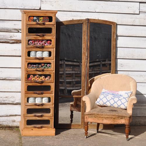 Antique Haberdashery Cabinet