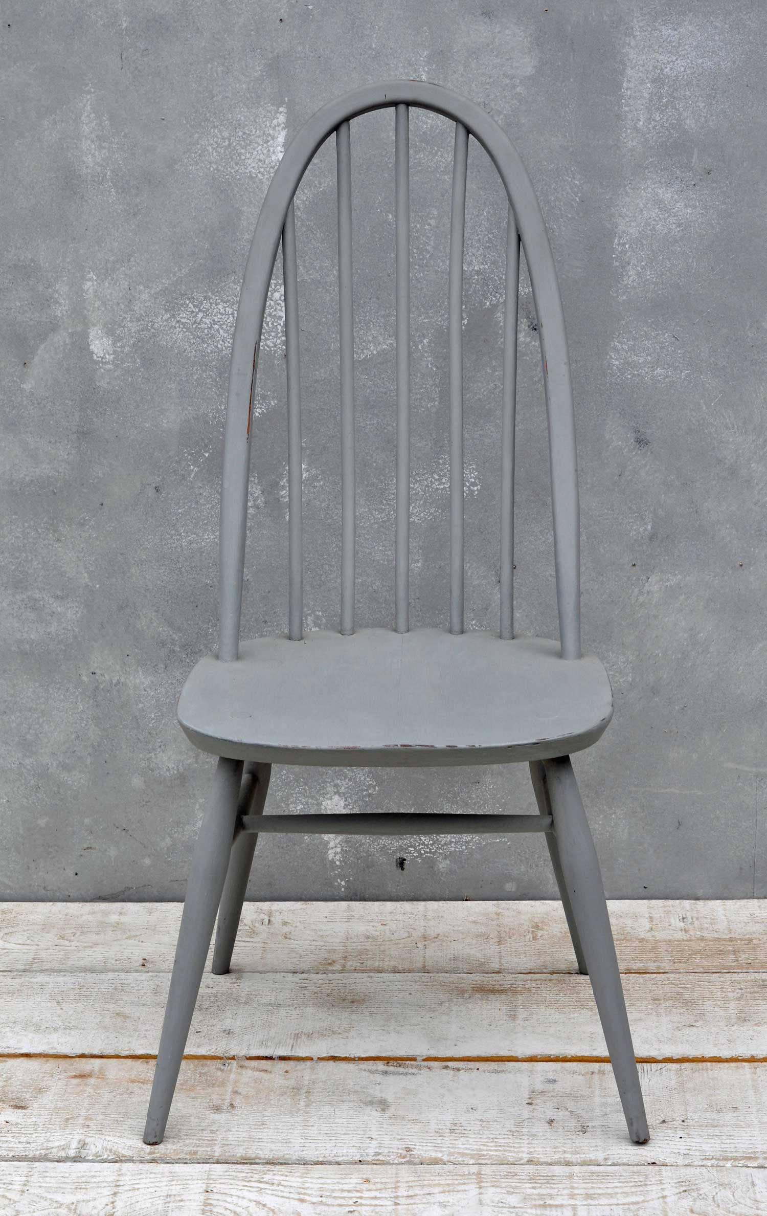 Painted Ercol Quaker Chair Home Barn Vintage