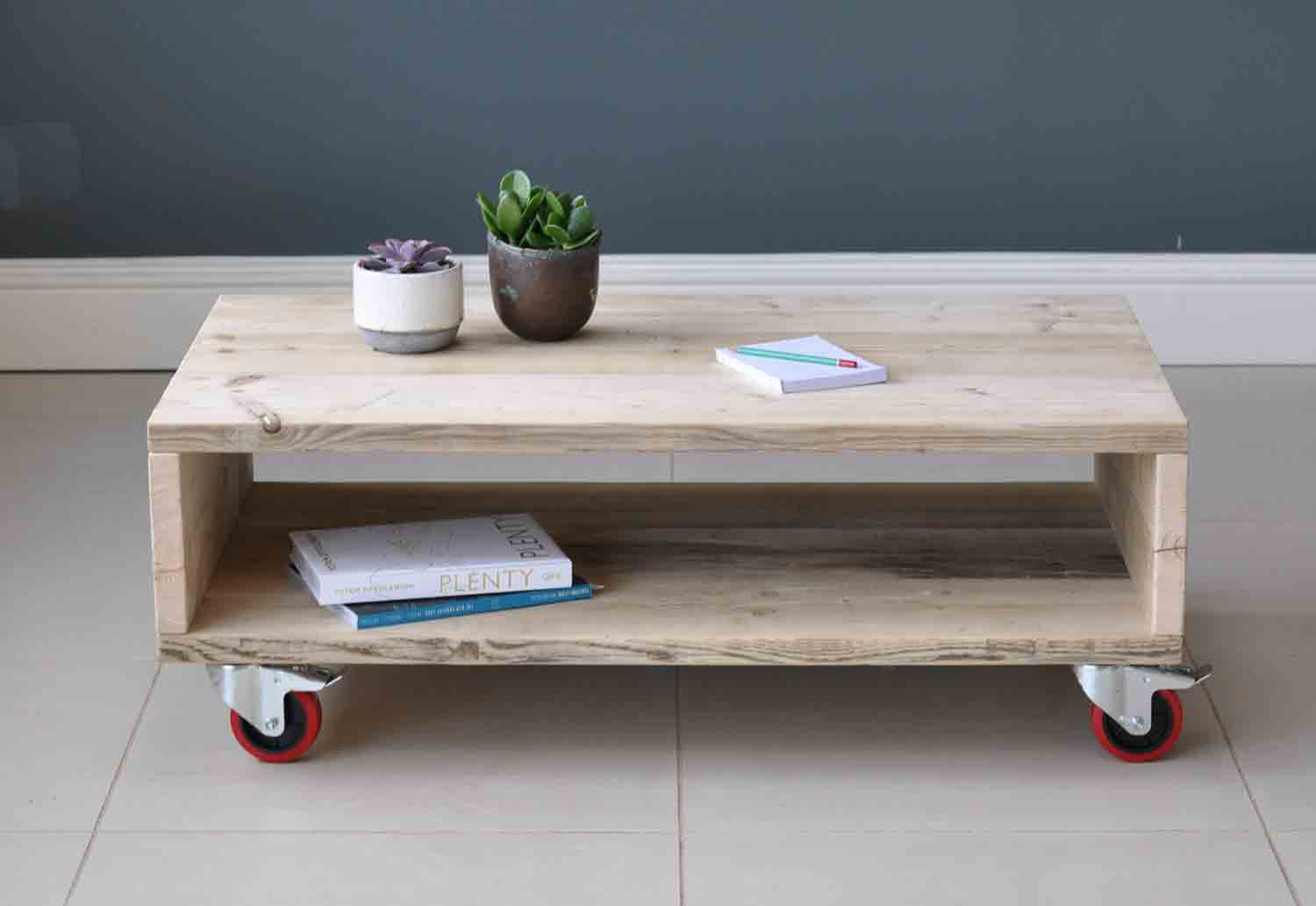 Wheeled Coffee Table Home Design Ideas and Pictures