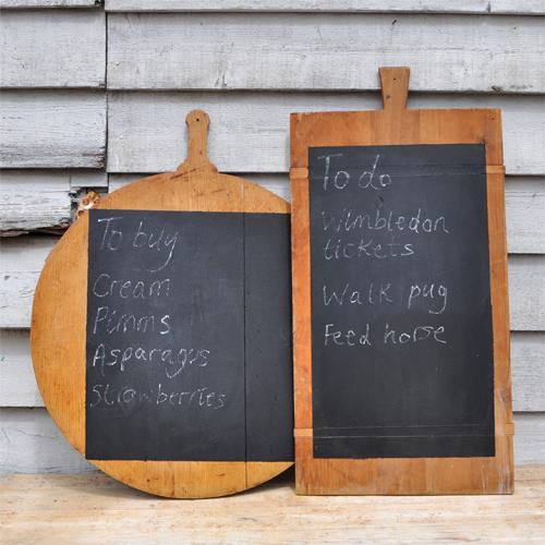 Vintage Blackboard / Bakers Board Chalkboards