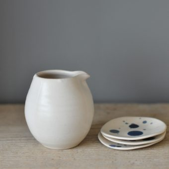 Katie Coston Simple Porcelain Cream Jug