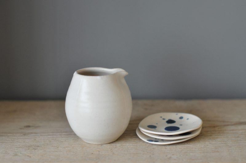 Katie Coston Simple Porcelain Cream Jug