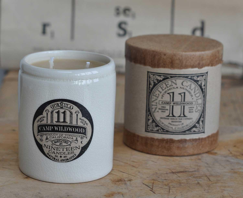 Handmade nineteen candle no 11 camp wildwood home barn for Homeware accessories