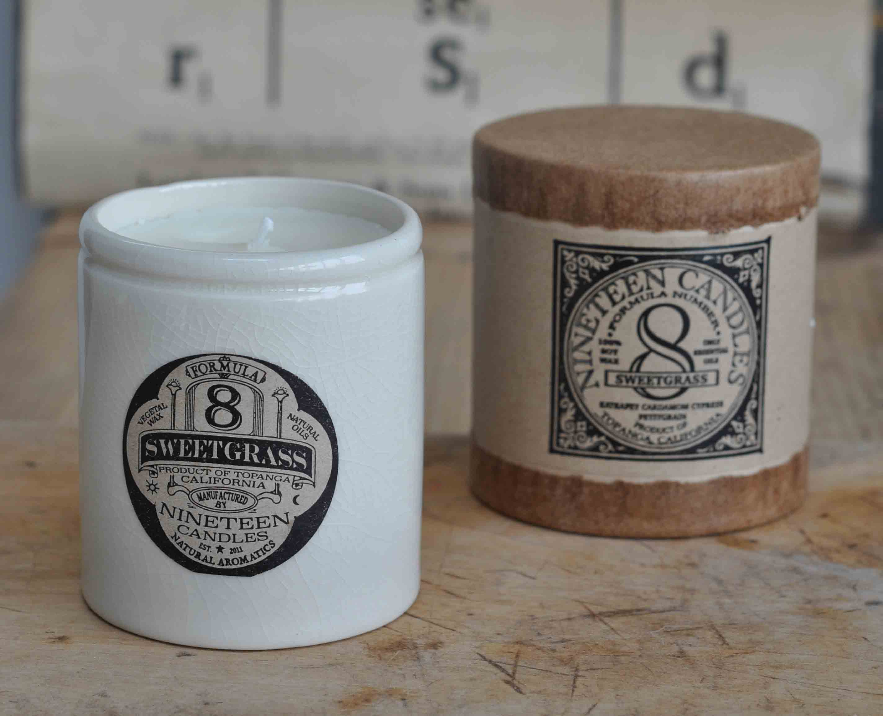 Handmade nineteen candle no 8 sweetgrass home barn vintage for Homeware accessories