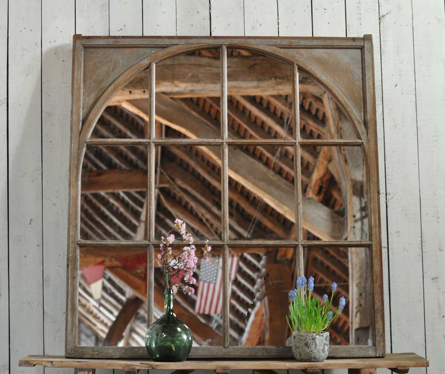 Sizeable Arch Within Square Antique Architectural Salvage