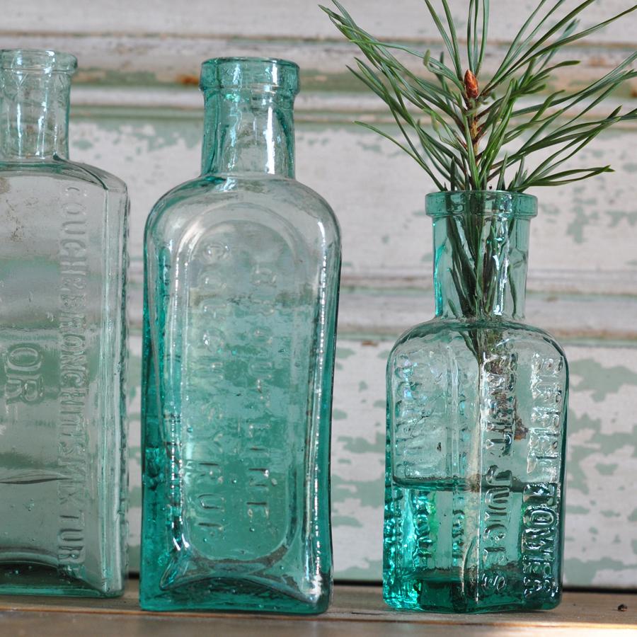 Victorian Medicine Bottle Home Barn Vintage