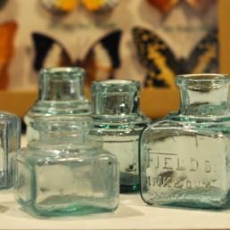 Victorian Glass Ink Bottles