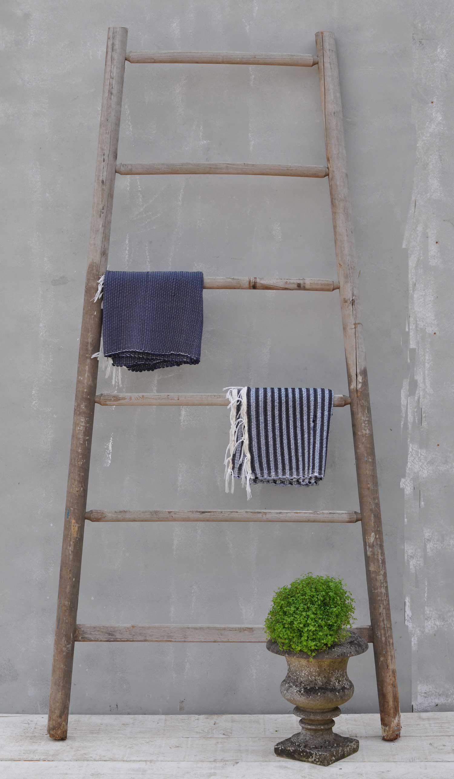 Vintage Fruit Picking Ladder Towel Rail Or Retail
