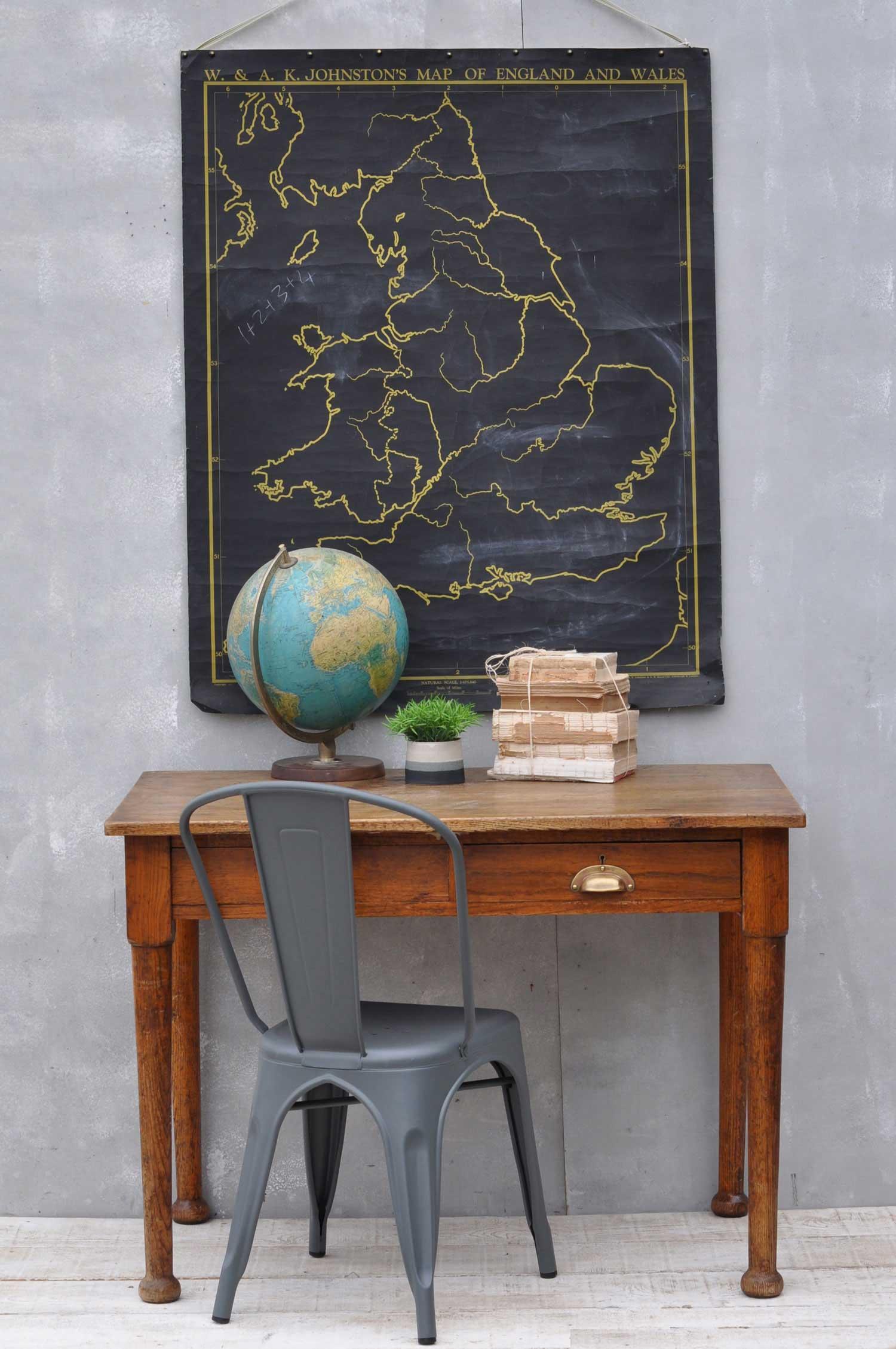 office desk for two. Vintage Solid Oak 1930\u0027s Office Desk \u2013 Two Drawers For
