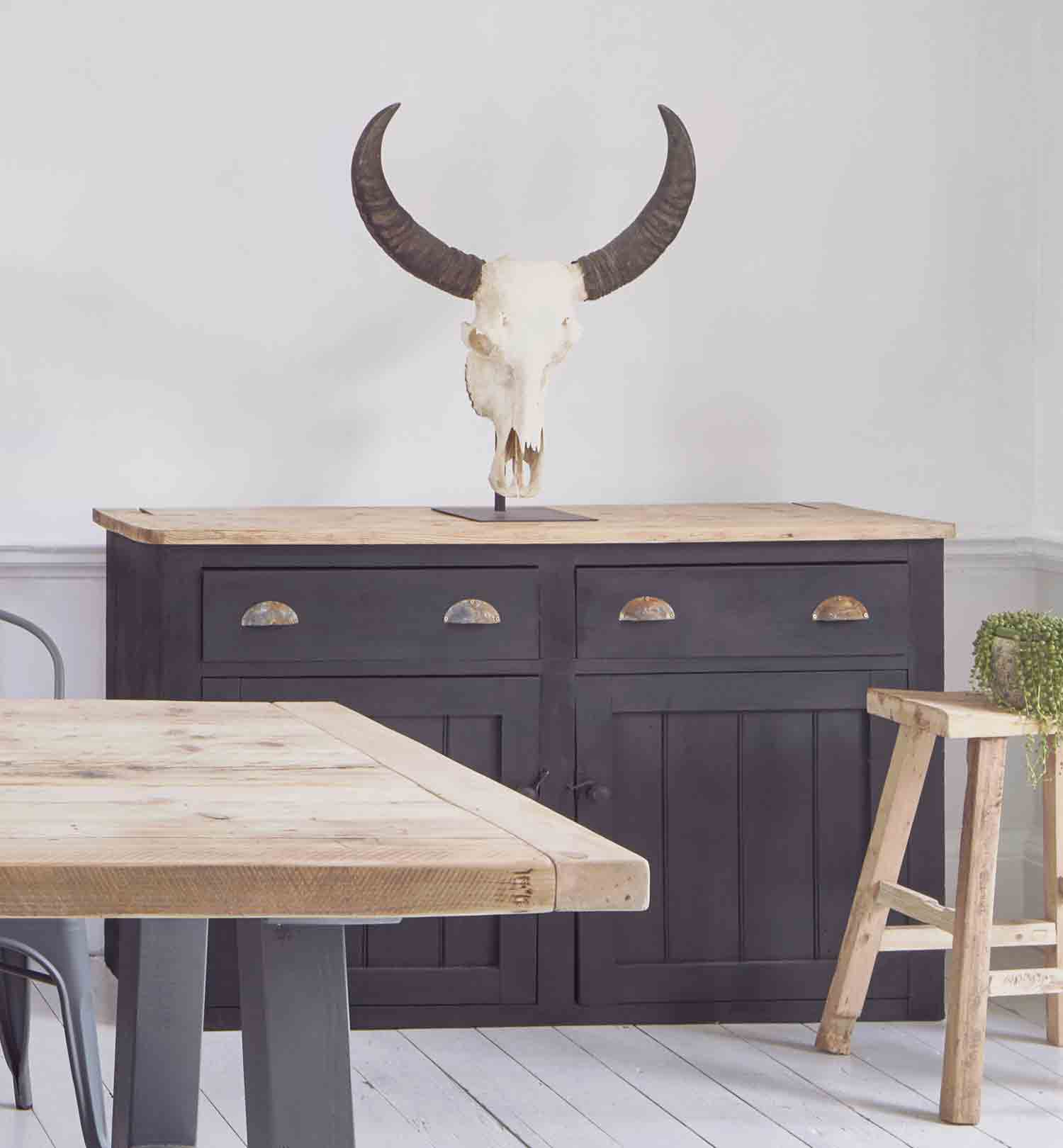 Rustic Farmhouse Dining Table and Furniture