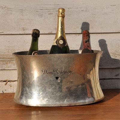 Vintage Dom Perignon Double Champagne Bucket Home Barn