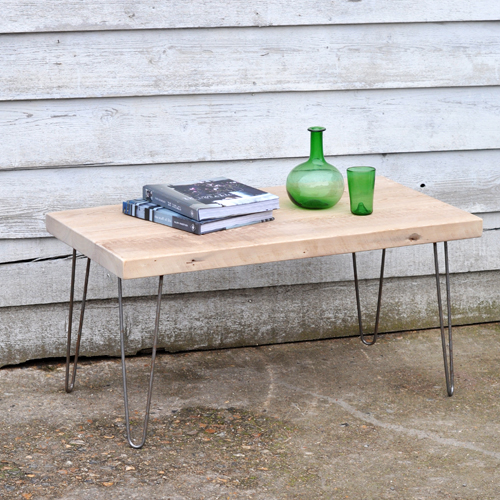 Rustic coffee table with hairpin wire legs home barn vintage rustic coffee table with hairpin wire legs keyboard keysfo Choice Image