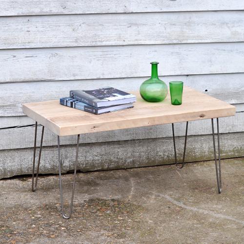Rustic coffee table with hairpin wire legs home barn vintage rustic coffee table with hairpin wire legs keyboard keysfo Gallery