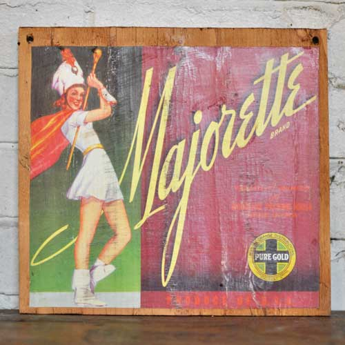Fruit Crate Signs - Majorette