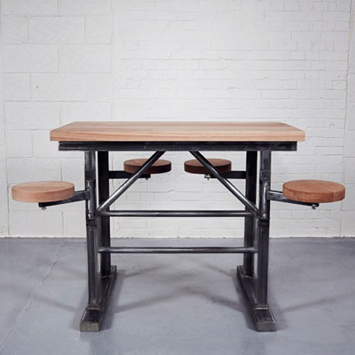 Homebarn Industrial Tall Ship S Bar Table Home Barn Vintage