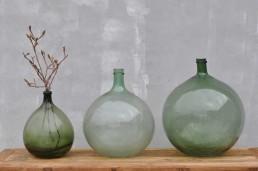 French Demijohn Carboy Wine Vessel Vase