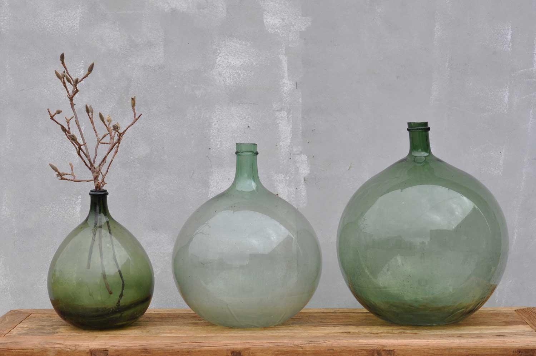 French Demijohn Carboy Wine Vessel Vase Home Barn