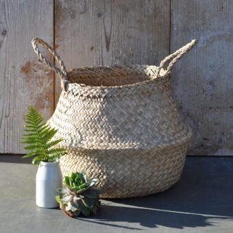 Belly Basket Available In Three Sizes Natural Colour