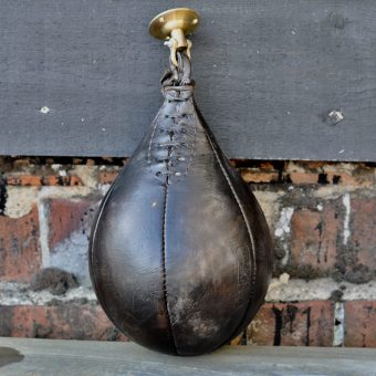 Authentic Leather Vintage punching ball