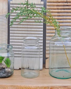 Glass Bell Jar In A Choice of Three Individual Sizes