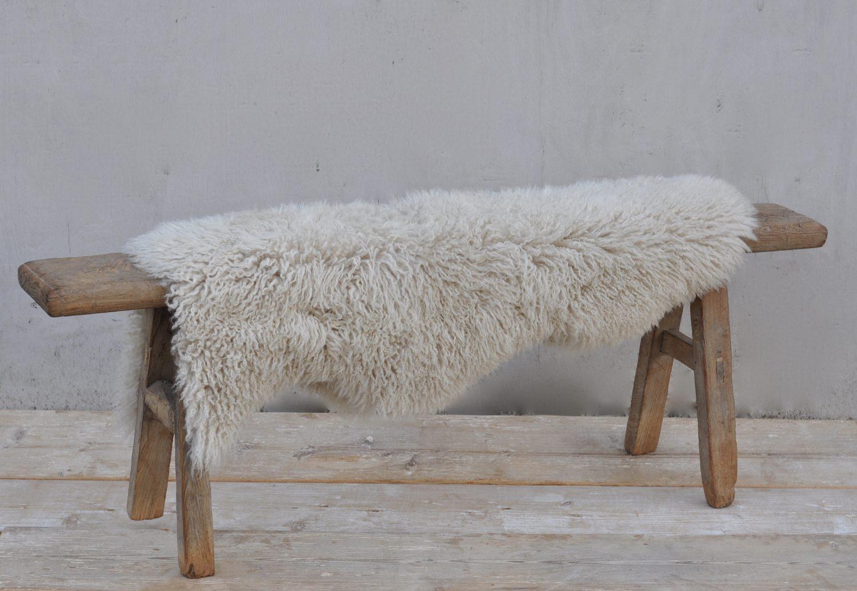 Curly Sheepskin Australian Throw Rug