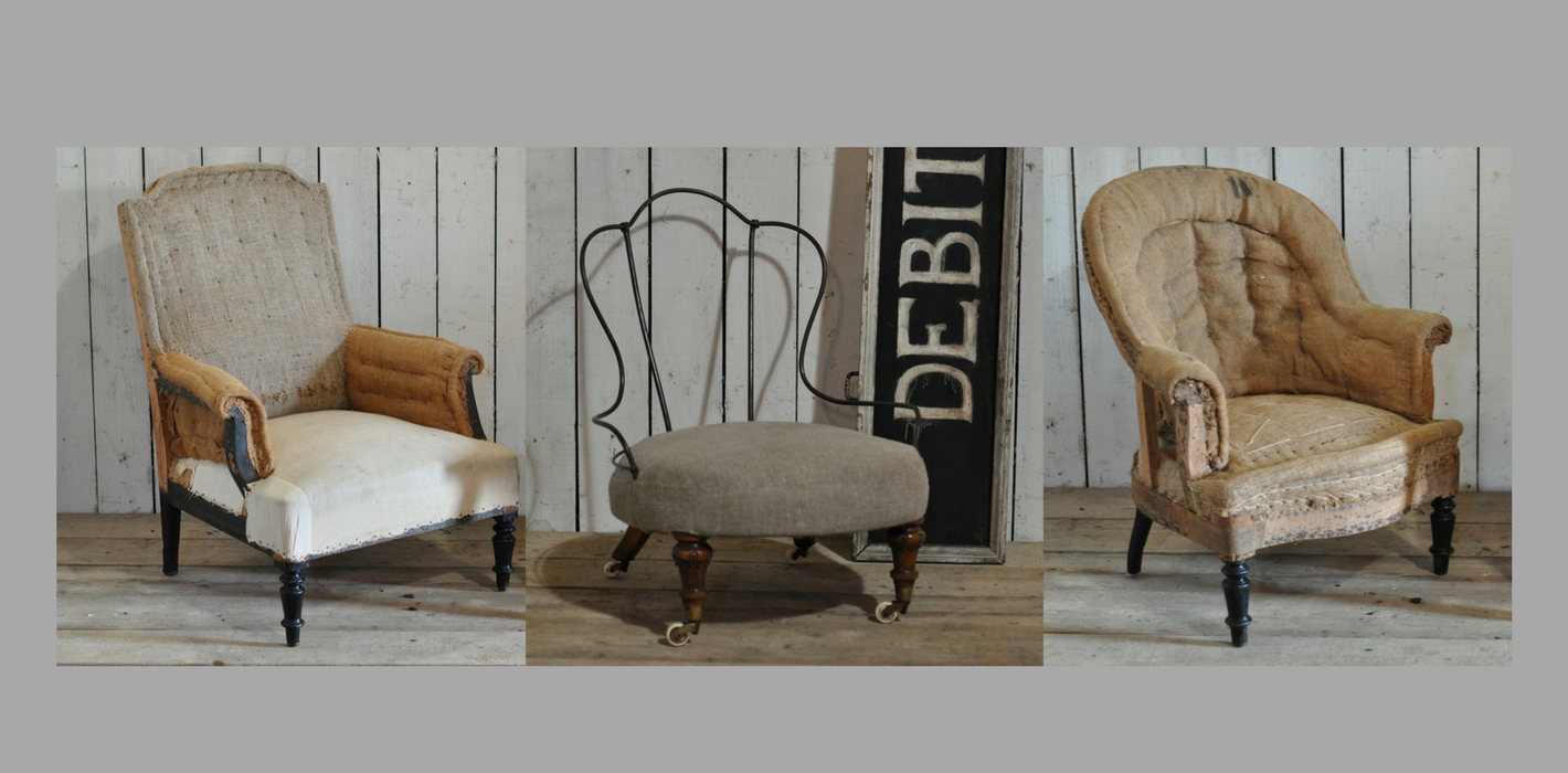 Home Barn Deconstructed Armchairs a