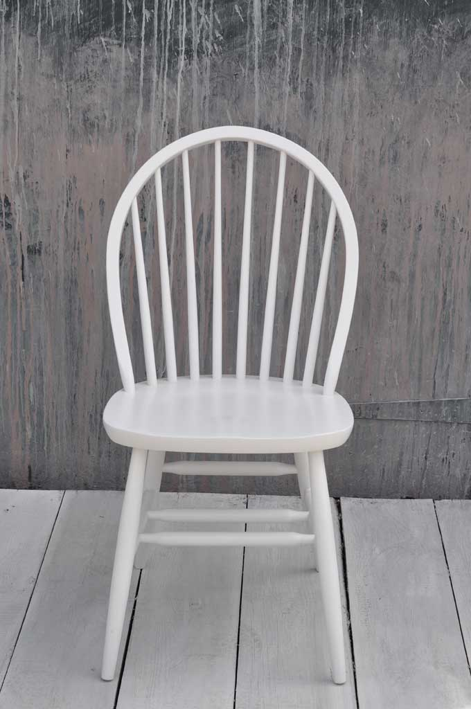 new arrival ba97b c90d0 Painted dining chair | Windsor hooped back design