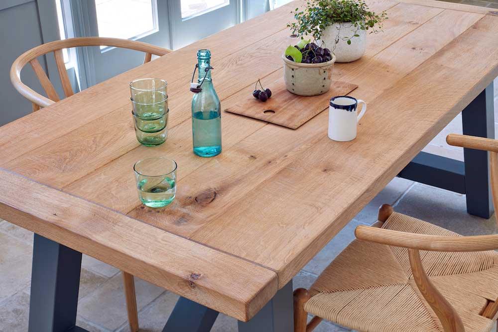 Rustic Farmhouse Dining Table Oak, Rustic Farmhouse Tables