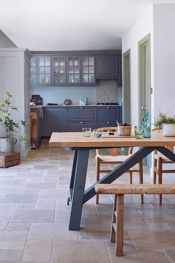 Rustic Farmhouse Dining Table Oak | Home Barn
