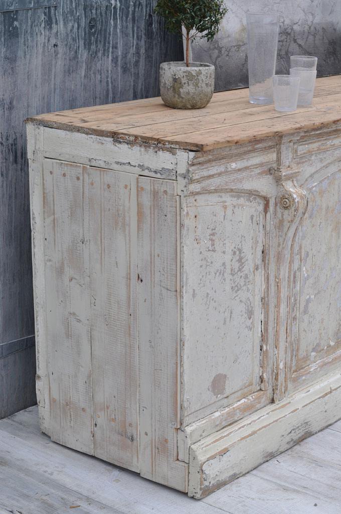 Antique Shop Counter Rustic Kitchen Island Home Barn