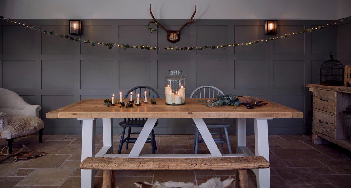 Home Barn Christmas slider