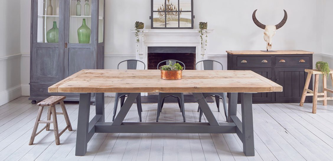 Home Barn Rustic Dining Tables
