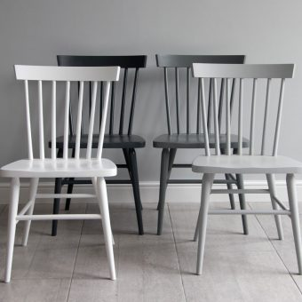 Painted wooden dining chair | Oxford