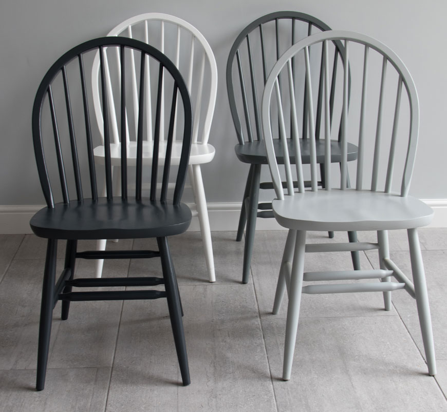 more photos b4db6 92d9d painted dining chair | Windsor hooped back design