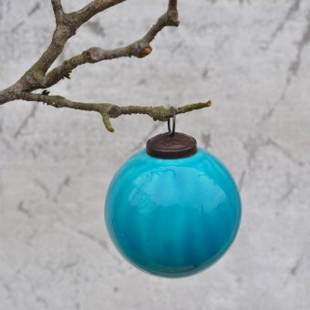 Turquoise Christmas bauble