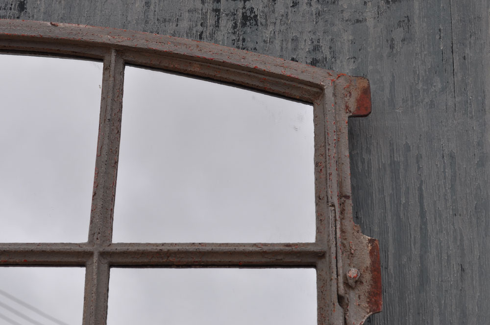 Vintage Industrial Warehouse Window Mirror Home Barn