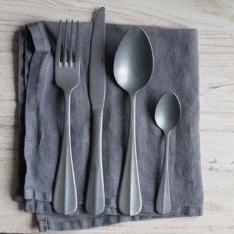cutlery set in in vintage style