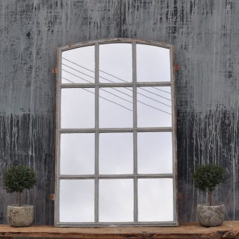 industrial warehouse window mirror