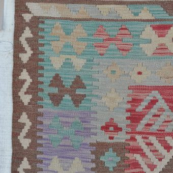 traditional hand woven kilim rug Sadie