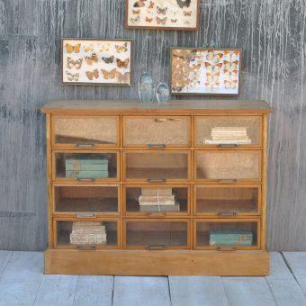 vintage haberdashery shop counter