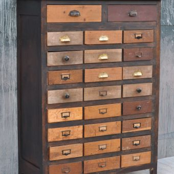 Vintage industrial workshop drawers | Homebarn