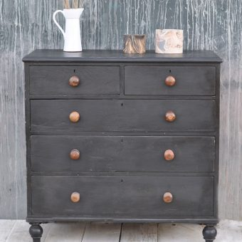 antique hand painted chest of drawers