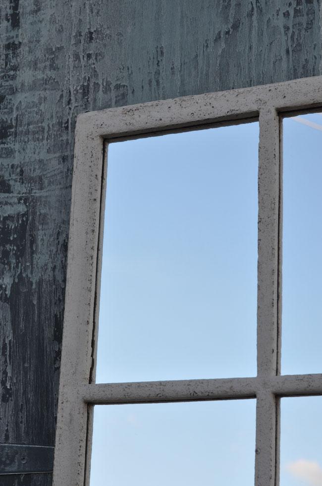 Vintage Industrial Warehouse Window Mirror Home Barn Vintage