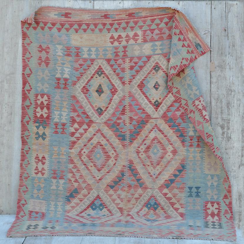 Traditional Hand Woven Kilim Rug Halima Home Barn Vintage