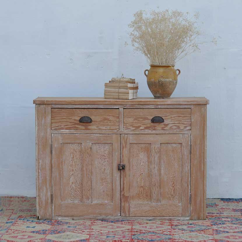 Antique Two Door Sideboard Cabinet